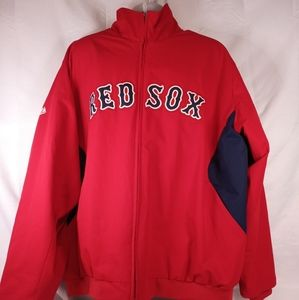 Boston red Sox Authentic Majestic zip up  jacket